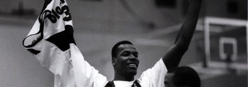 Young Clifford Robinson Blazers Practice